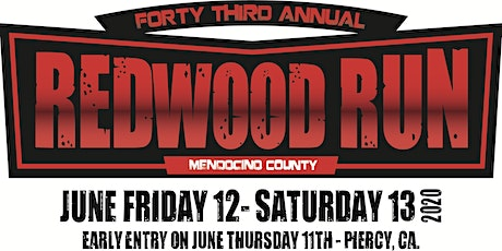 The 43rd Annual Redwood Run tickets
