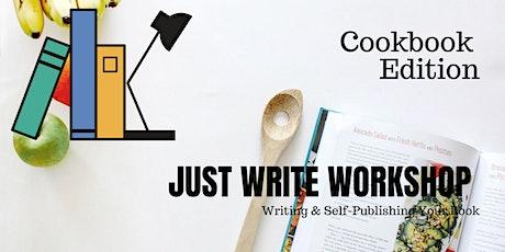 Just Write Workshop -  Cookbook Edition tickets