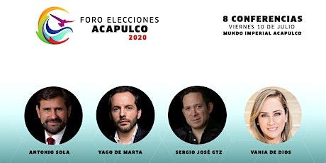 Foro de Elecciones Acapulco 2020 boletos
