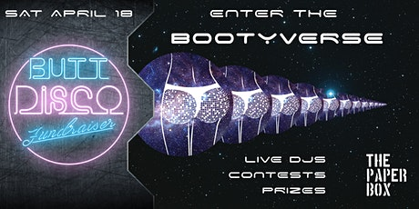 Enter the Bootyverse: A Butt Disco Fundraiser tickets