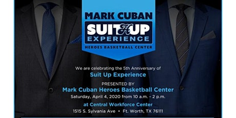 Suit Up Pop Up Experience tickets