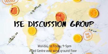 ISE Discussion Group Week 9 tickets
