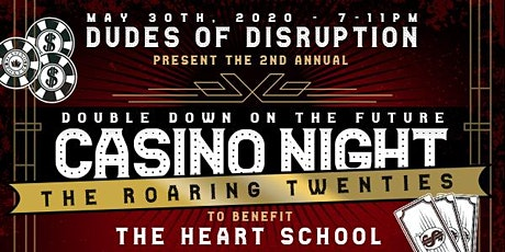 Dudes 2nd Annual Double Down Casino Night Fundraiser - 20's Theme! tickets