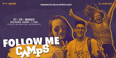 FOLLOW-ME CAMP'S ingressos