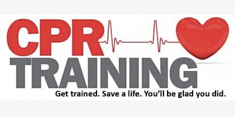 AHA BLS, CPR  & AED CLASSES tickets