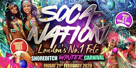 SOCA NATION - London's Biggest Carnival Fete tickets