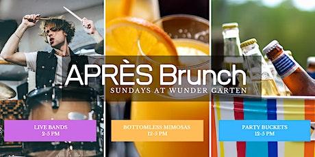 Après Brunch - Sundays at Wunder Garten tickets