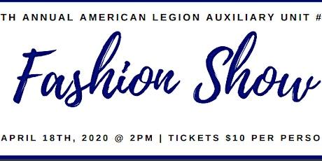 6th Annual ALA Unit #74 Fashion Show - Vendor Booth Registration tickets