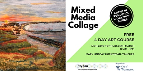 Mixed Media Collage Course -  POSTPONED tickets
