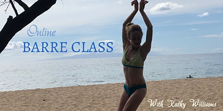 3 Online Barre 20min Workouts with Kathy Williams  + Bonus session tickets