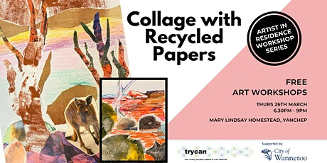 Collage with Recycled Papers - Evening Workshop POSTPONED tickets