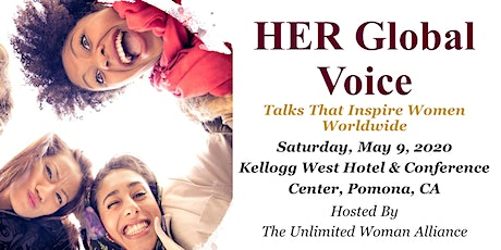 HER Global Voice - Talks That Inspire Women Worldwide - Session 1 tickets