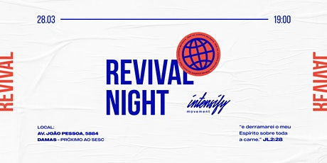 Revival Night - Intensify Movement ingressos