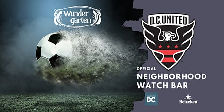 Wunder Garten is an Official DC United Neighborhood Watch Bar tickets
