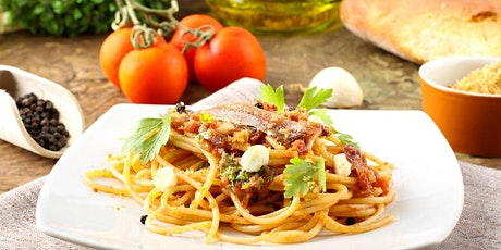 Italian Cuisine Cooking Class -    Sat 9/26/20  3pm-5:30pm - Delicious! tickets