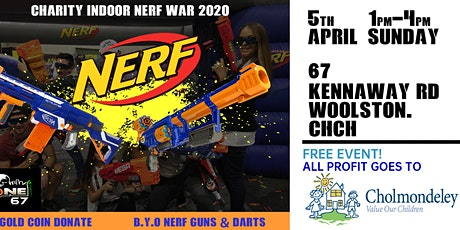 Charity Indoor Nerf War 2020 tickets