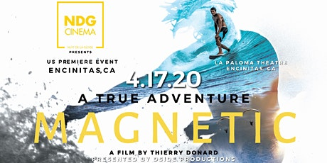 MAGNETIC - A True Adventure by Thierry Donard tickets