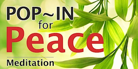 Meditation: Pop In for Peace (Sandgate) tickets