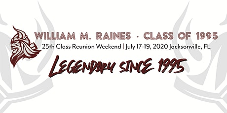 Raines Class of 1995 - 25th Reunion tickets
