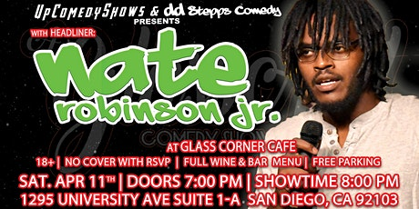 Comedy Night at Glass Corner Cafe- Apr. 11th : Nate Robinson Jr. tickets