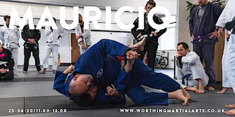 Mauricio Gomes Seminar at Centre Line BJJ Worthing tickets