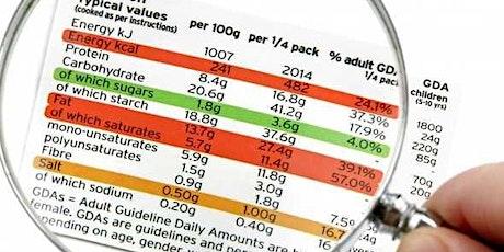 NUTRITION - SANTE : Comprendre les étiquettes alimentaires. Conférence et buffet froid billets