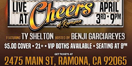 Cheers of Ramona: Comedy Night: Fri. Apr. 3rd 9 pm: ANDREW TARR tickets
