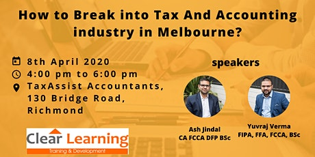 Clear Learning- 8th April 2020, How Do I Find My First Job? tickets
