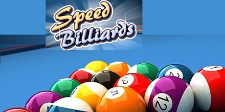 Speed Billiards(Pool)- Ages 20's,30's & 40's- prepay required tickets