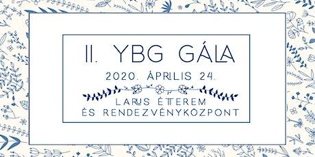 II. YBG Gála tickets