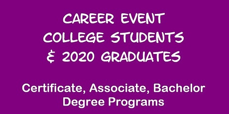 Career Event for U of WASHINGTON Students tickets