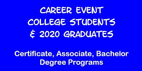 Career Event for PENN STATE U Students tickets