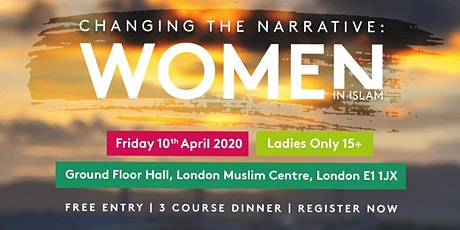 Changing The Narrative: Women in Islam tickets