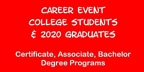 Career Event for U of HOUSTON Students tickets