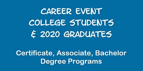Career Event for AMERICAN PUBLIC UNIVERSITY Students tickets