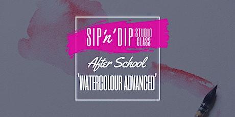 SIP N DIP STUDIO - After School Advanced Watercolour Jellies/Octopus tickets