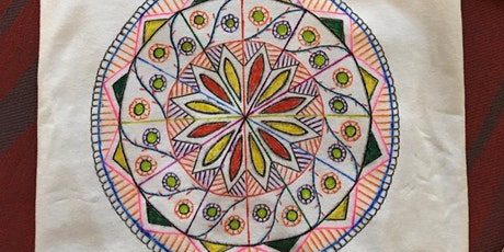 Drawing Mandala on T-Shirt for Parents and Kids tickets
