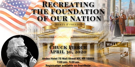 Recreating the Foundation of Our Nation tickets