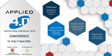 Applied 4.0: Digitalizing Emerging Tech Conference tickets