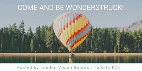 Wonderstruck 2020 - Vision Board  Workshop to amaze, discover and spark joy tickets