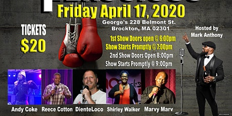 Funny & Ferocious Comedy 2nd Show tickets