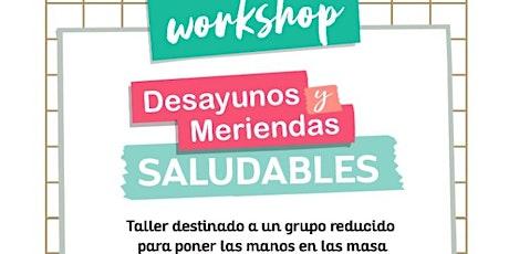 3er Workshop de Desayunos y Meriendas Saludables @lostalleresdemama @mielclair entradas