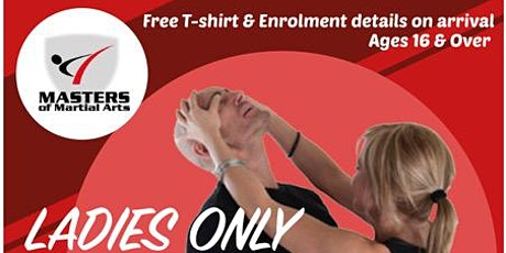 LADIES ONLY SELF DEFENCE CLASSES tickets