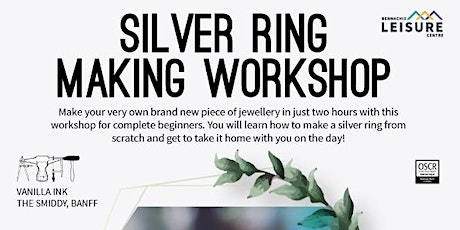 Silver Ring Making Workshop - EXTRA SESSION tickets