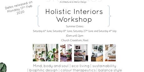 Holistic Interiors Workshop tickets
