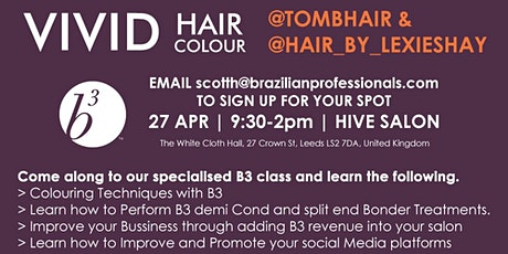 Vivid Hair Colour Class tickets