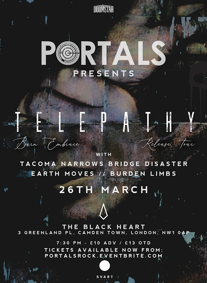 Telepathy Album Launch at the Black Heart w/ TNBD image