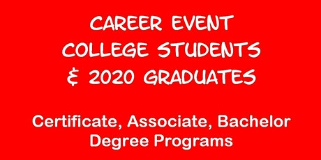 Career Event for U. WISCONSIN Students tickets