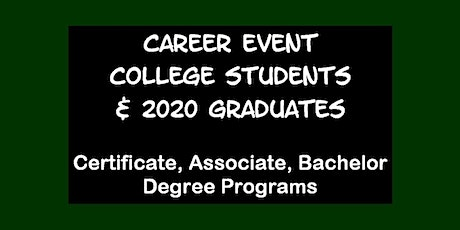 Career Event for U. SOUTH FLORIDA Students tickets