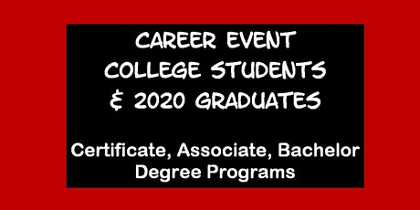 Career Event for U. MARYLAND Students Tickets
